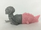 Fiji Mermaid (Silver Lame/Light Pink)