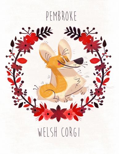 Pembroke_welsh_corgi_print-naomi_romero-gicle_digital_print-trampt-243577m