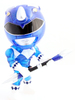 Mighty Morphin Power Rangers - Blue Ranger - Crystal Edition (SDCC '15)