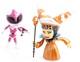 Mighty Morphin Power Rangers - Rita Repulsa & Pink Rangers Metallic (2 Pack)