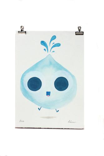 Plop-peskimo-watercolor__screenprint-trampt-244045m