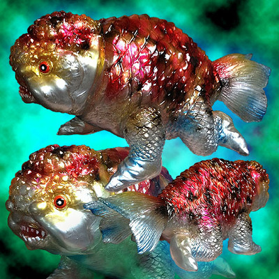 Goldfish_zaurus_kingyo_zaurus_one_off_custom-blobpus-kingyosaur-trampt-244939m