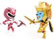 Mighty Morphin Power Rangers - Metallic Red Ranger vs. Goldar (2 Pak)