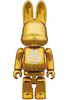100% R@bbrick Chrome Gold ( Project 1/6 Exclusive )