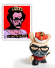 Frank Kozik Ultimate Bearded Dude (Golden Ticket)