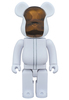 BE@RBRICK 400% DAFT PUNK  (WHITE SUITES Ver.) GUY-MANUEL de HOMEM-CHRISTO