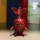 Red Metal Mini Deadbeet