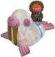 Walrus and Rider - Albino
