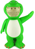 BARNEY GRIN - JPS Bubble B-Rex Grin Player 1 ( JPS EDITION ) ( Normal Grin )