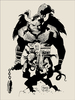 First Hellboy by Mike Mignola (Version B)