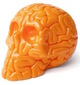 Mini Skull Brain Orange Edition