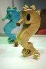 Seahorse and Rider - Bamboo