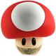 Mushroom Grin - Red
