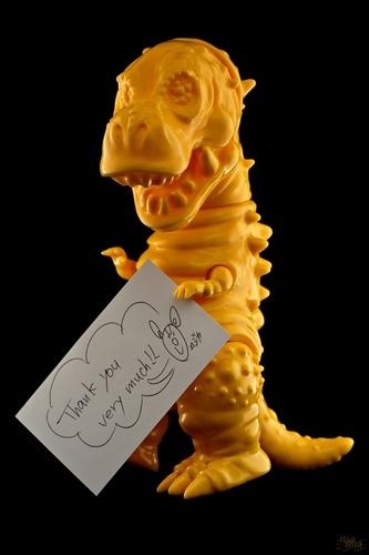 Tyranbo_yellow__unpainted-cojica_toys_hiramoto_kaiju-tyranbo-cojica_toys-trampt-261388m