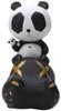 Cacooca Panda - Black Hippo