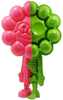 Rumbbell Dissected - Pink/Green