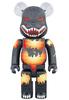 BE@RBRICK Godzilla ( Death Goji burning version ) 1000%