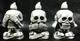 skeleton company! 見ねぇ! 言わねぇ! It hears and cooks (white molding)