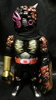 Kaosuman No. 1 blade (black molding / copper / gold / purple paint / black scarf / Doll eye Purple)