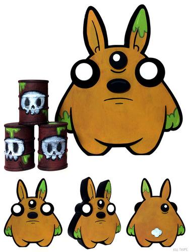 Toxic_chunky_bun-kill_taupe-acrylic-trampt-263912m