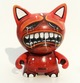 CUSTOM KIDROBOT TRIKKY BUMPED HEADS - red