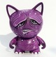 CUSTOM KIDROBOT TRIKKY BUMPED HEADS - purple