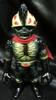head Mann (black molding / meta-green / red scarf)