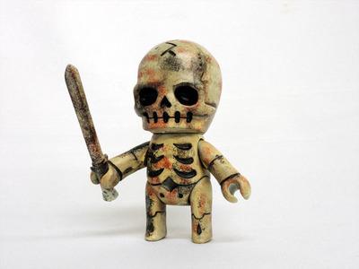 Skulltula_swordman_-_weathering_paint_ver-kinokeshi_shimomoku-skulltula_gaikochu-jungle-trampt-264443m