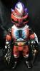 NeXT Man No. 2 StrongARM (head: purplish red marble / body : black molding / meta-red ・ black paint)