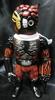 chaos man 1 No. Black molding / meta-red / white scarf