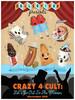 """""""Crazy 4 Cult 9"""" Poster"""