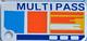 """Multipass"" Keychain"