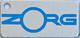 """""""Zorg Logo"""" Keychain"""