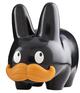 "Mustache Labbit Glossy Black - 10"""
