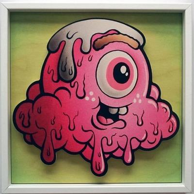 Strawberry_terry_-_framed-buff_monster-gicle_digital_print-trampt-268351m