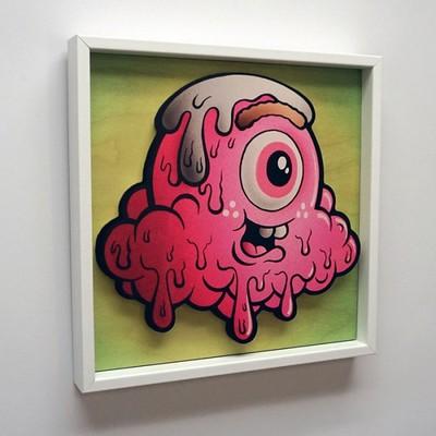 Strawberry_terry_-_framed-buff_monster-gicle_digital_print-trampt-268352m