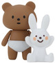 Nappy Bear & Naughty Rabbit