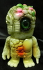 mutant chaos Mini size (a phosphorescent formed type / gold / yellow / o Ren di / pink / green paint / Doll eye green)
