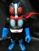 chaos man 2 No. (black molding / blue paint / red scarf / bloodshot eyes)
