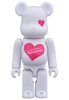 LOVE & Happy St. Valentine's Day 2016 Be@rbrick 100%