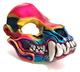 Rainbow Skull Beast Mask