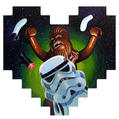 Disarming_a_stormtrooper-manlyart_jason_chalker-acrylic-trampt-275465m