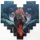 """Wolf Dream #11"" Wood Print"