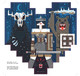 """I Pixel Heart Sword & Sworcery"" Wood Print"