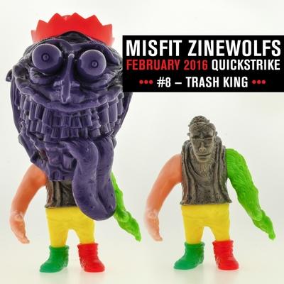 Zinewolf_quickstrike_7_-_trash_king-hateball_justin_jewett-zinewolf-rocket_society-trampt-275784m