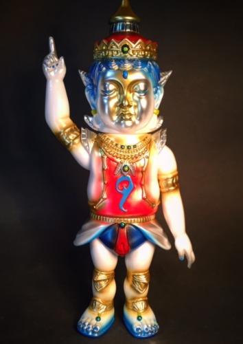 Buddha_statue_squadron_surrenders_shakatchi_gokuraku_color-mirock_toy_yowohei_kaneko-shakatchi-miroc-trampt-277612m
