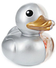 Rubber Ducky Anatomy - Silver