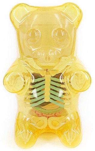 Gummi bear anatomy puzzle toy - yellow Gummi Bear ... | Trampt Library