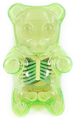 Gummi Bear Anatomy Puzzle Toy Green Gummi Bear A Trampt Library