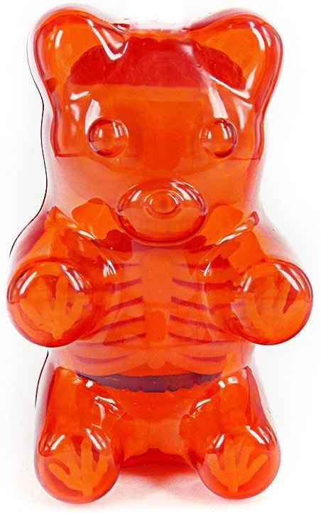 Baby Clear Gummi Bear Funny Anatomy Red Gummi Be Trampt Library